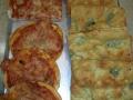 pizze e focaccia al gorgonzola