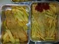 cotoletta e patatine